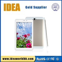 """Android 4.4 IPS screen quad core MTK8382 Rockchip Allwinner 8"""" 3G phone call touch tablet pc"""