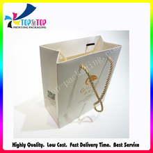 Durable Recycle Material Luxury Jute Shopping Bag