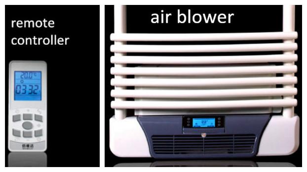 Oil Filled Electric Towel Warmer Bathroom Fan Heaters With