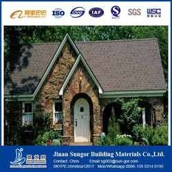 Building Roofing Material / Color Stone Coated Asphalt Shingle / Roofing Sheet