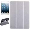 Hot Selling Silk Texture Leather Case for iPad Air with Hand Strap