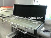 style playing game aluminum mahjong set/aluminum carrying tool case