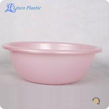 Plástico PP rosa lavatório