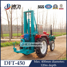 DFT-450 tractor water well drilling rig, suitable family and drilling team use