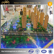 promotional price architectural high building model rendering for real estate agency