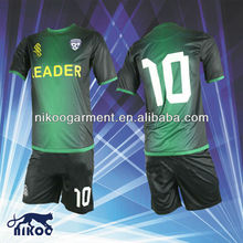 newly designed dye sublimation cool-dry soccer uniform for game