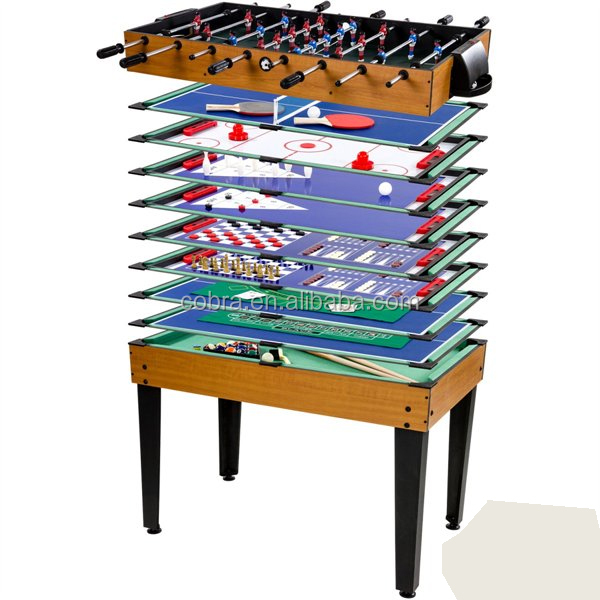 high quality but attractive price multi game table with 15 different games dark brown games. Black Bedroom Furniture Sets. Home Design Ideas