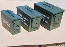 Ammo Can Caliber Variety Set of 3