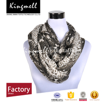 Fashionable High Quality Customizable Digtial Printed Women Silk Scarf
