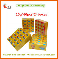 High quality 4g 10g 15g 17g Soup seasoning cube /powder various flavor, bouillon cube/powder supplier from China