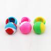 thermostable ball shape oleamen storage container silicone cosmetic jar silicone medicine jar 38mm 6ml jar
