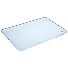 HAWEEL Slim Transparent TPU Protective Case for iPad mini 1 / 2 / 3(Blue)