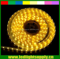 Yellow color 8.6w/m IP33 IP65 IP68 low voltage 335 side emitting continuous length flexible led light strip 60led/m