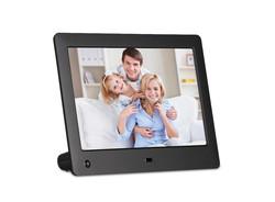 Fresh new 8 inch promotion digital photo frame(inner memory optional)
