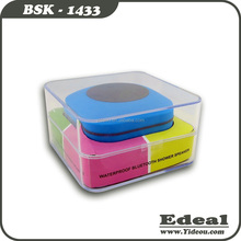 impressively design plastic cabinet speaker box, cell phone speaker with microphone from speaker china factory