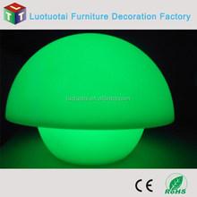 Illuminated mushroom shape LED table light use for bedroom