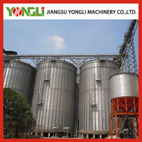 Steel silos for paddy storage