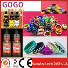 Most popular 100% original wax /dry herb/oil vaporizer tank vapeband, USA hot sale silicone vapor ring customized logo vape band