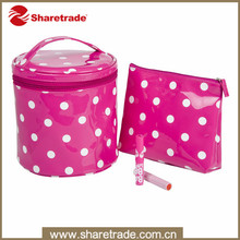 Promotional Polka Dots Cosmetic Bag Series