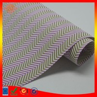 uv protect blind mesh fabric material by roll backpack fabric material vinyl pvc place mat material