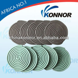 green smokeless and harmless insecticide mosquito coil home use product