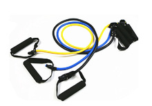Practical Elastic Training Rope Resistance Bands Exercise Tubes