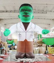 waha customized inflatable last man standing game for Halloween