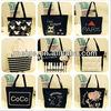 Customized non woven tote bag/polyester tote bag/fair trade tote bags