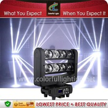 Guangzhou stage lighting crazy 8 spider led beam moving head