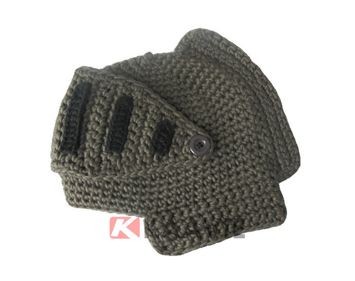 Free Crochet Pattern For Helmet Hat : Knight Helmet Hat Free Knitted Pattern - Buy Crochet ...