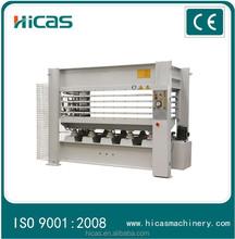 Woodworking plywood hydraulic hot press machine