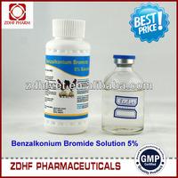 braod spectrum livestock and poultry Disinfectant 5% Benzalkonium Bromide Solution