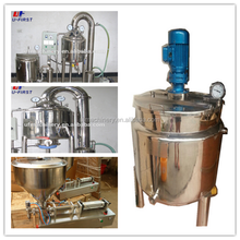 large capacity stainless steel honey processing line