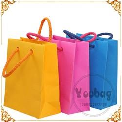 customized paper gift bag, advertising paper bag, packaging paper bag