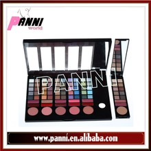 Top sale 78 color eyeshadow kit,eyeshadow + lipgloss + blusher makeup palette