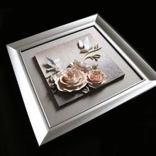 Beautiful flower designs painting Decorative Rose Design fabric painting designs