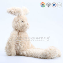 Competitive advantage long legs long ear plush fuzzy rabbit toy