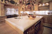 flat edge/eased edge countertop solid surface