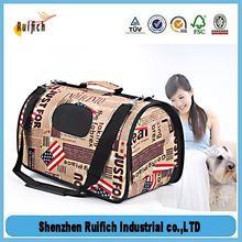 Promotional pet duffel bag,expandable pet carrier,pet carry bag