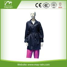 2015 fashion cheap green women trench coat/overcoat