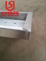 Construction Steel Scaffolding Walking Board Used with Frame Scaffolding