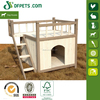 DFPets DFD3008 Fir Wood Dog Kennel With Veranda
