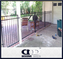 Steel Picket Metal Wrought Iron Fence design