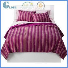 Queen size baby cotton patchwork bedsheet polyester quilt