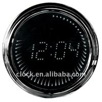 hot sale Round mirror led wall clock