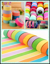 2015 Top Sell New Fashion Design Washi Paper Tape for Box Decoration