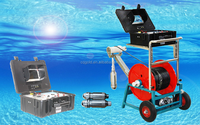 Deep Water Well Inspection Camera System with DVR, Motor Winch and 100-2000m Cable
