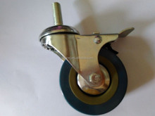 hot sale wave board PVC/rubber caster wheel china factory
