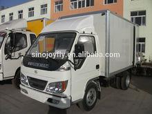 1ton-1.5ton foton truck delivery van truck