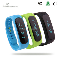 2015 Hot 180days Long standby IP67 Waterproof Android E02 smart band